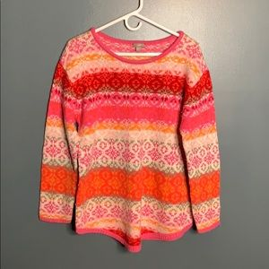 J. Jill patterned sweater